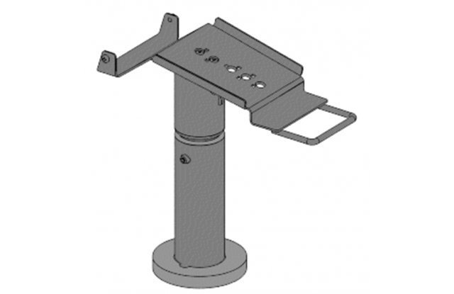 Telescopic stand for Ingenico iPP480, height 200-300 mm