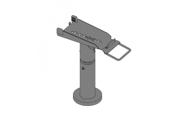 Telescopic stand for Ingenico iWL250, height 200-300 mm