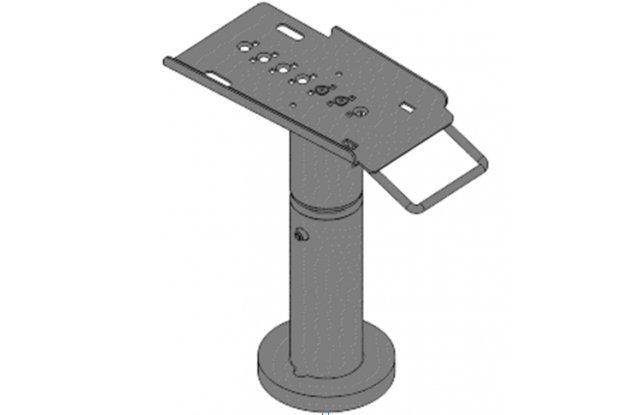 Telescopic stand for Verifone VX805, height 200-300 mm