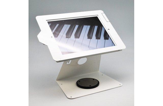 iPad metal stand, White