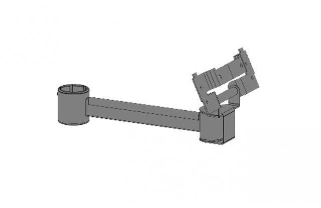 Mount for monitors, length 200 mm