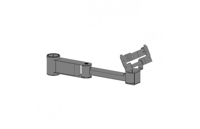 Mount for monitors, length 200+200 mm