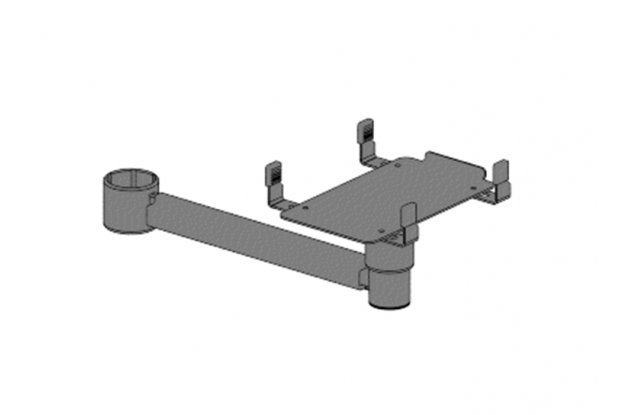 Mount for printers, length 250 mm