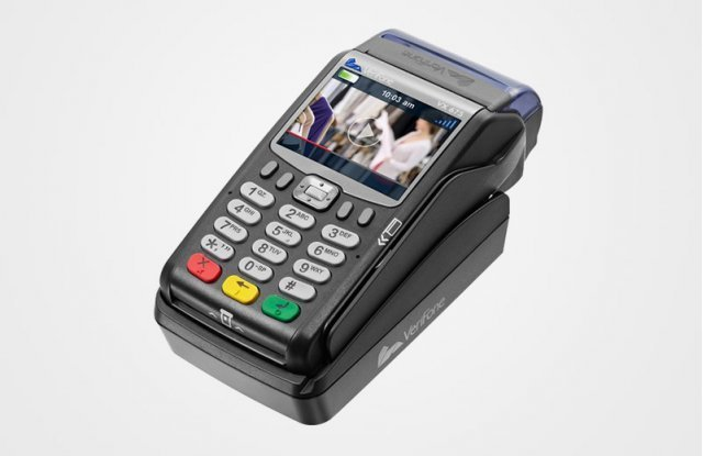 Charging base for VeriFone Vx675