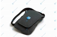 Universal carrying case for credit card terminal, Polar Black